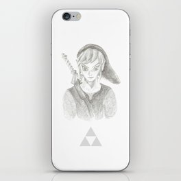 The Hero of Time iPhone Skin