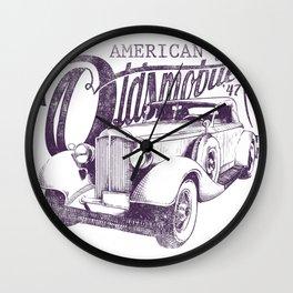 Oldsmobile  Wall Clock