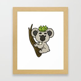 Princess Girl Gift Crown Daughter Funny Framed Art Print
