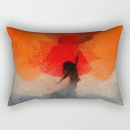 umbrellaliensunshine: atomicherry spring! Rectangular Pillow