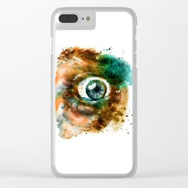 Fear Eye Clear iPhone Case