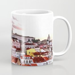 "Sunrise in Lisbon, ""Portas do Sol"" (Sun doors) Coffee Mug"