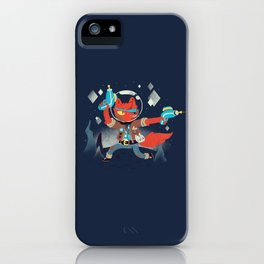 Bounty Hunter Space Cat Killa iPhone Case