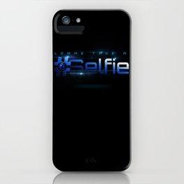 Lemme Take a Selfie iPhone Case