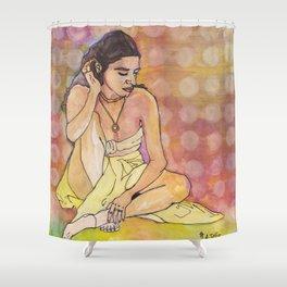 Haati Chai Shower Curtain