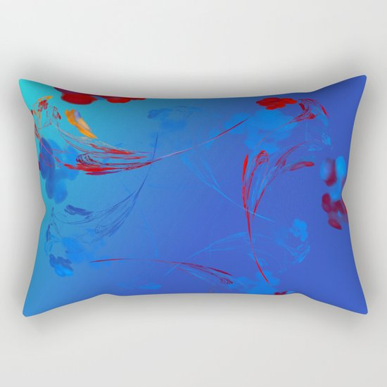 Flower in the Mind Rectangular Pillow