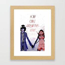 Hold me down Framed Art Print