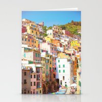 italy Stationery Cards featuring Italy by GF Fine Art Photography