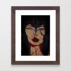long arms Framed Art Print