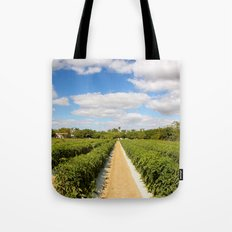 Tomato Fields  Tote Bag
