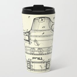 Insulated Military Tank and Other Vehicle-1945 Travel Mug