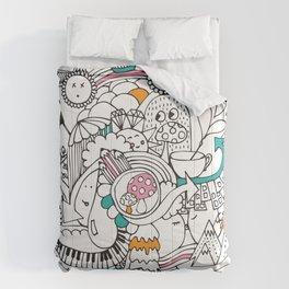 My Happy Doodle Comforters