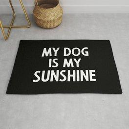 My dog is my sunshine Rug