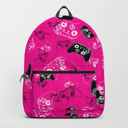 Video Game Pink Backpack