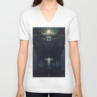 bioshock V-neck T-shirts featuring Bioshock Infinite by Fabled Creative - Archive