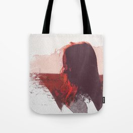 Sunset Girl Tote Bag