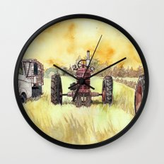 Retirees Wall Clock