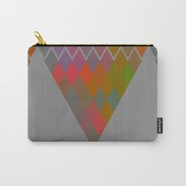 """Colorful Rhombus pattern"" Carry-All Pouch"