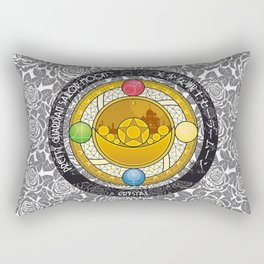 Sailor Moon - Crystal Transformation Brooch Rectangular Pillow