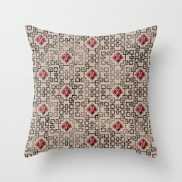 Chinese New Year of The Rat Pattern Throw Pillow