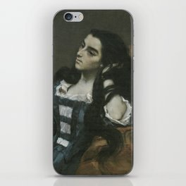 Gustave Courbet - Spanish Woman iPhone Skin