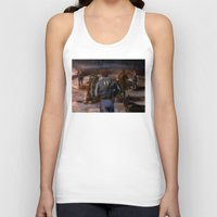 fallout Tank Tops featuring Fallout Tribute by Hetty's Art
