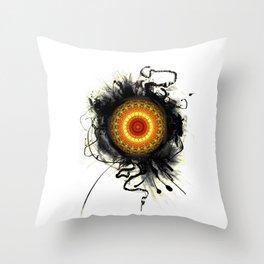 """Laptopskin Mandala """"Namastee"""" Throw Pillow"""