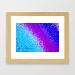 """""""Ocean Fog"""" Painting Framed Art Print"""