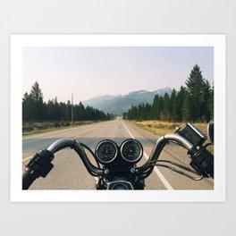 The Open Road Art Print