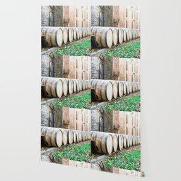 Bourbon Barrel Wallpaper