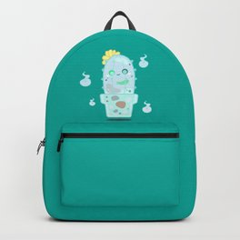 Ghostly Cactus Backpack