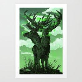 Royal Hunting Grounds Art Print