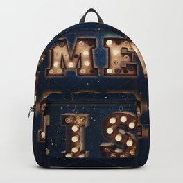 Kiss me Tiger -  Wall-Art for Hotel-Rooms Backpack