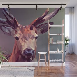 Deer geometric new Wall Mural