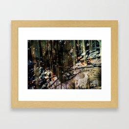 Snow Borne Sorrow Framed Art Print