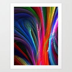 Spectral Magic Art Print