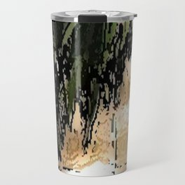 Palm Tree Travel Mug
