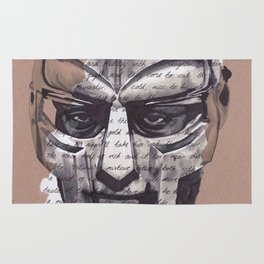 MF DOOM Portrait Rug