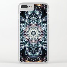 Mandalas from the Voice of Eternity 4 Clear iPhone Case