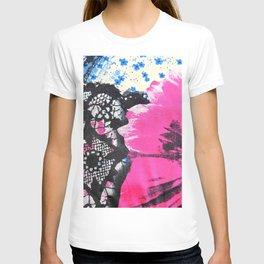 Pink Flower | fleur rose T-shirt