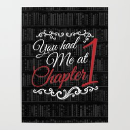 You had Me at Chapter 1 Poster