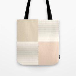 Dash in Tan Tote Bag