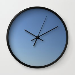 Clear blue sky Wall Clock