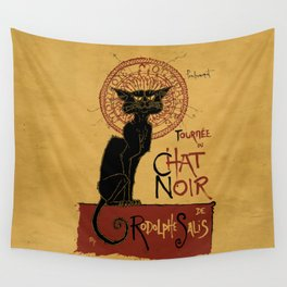 Le Chat Noir Wall Tapestry