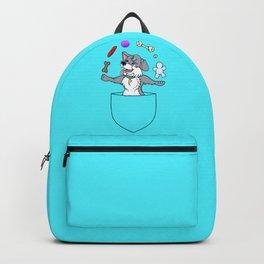 Juggling Pocket Puppy   Backpack