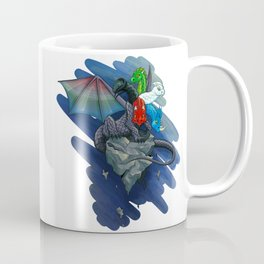 Tiamat the Five-Headed Dragon Coffee Mug