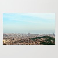 barcelona Area & Throw Rugs featuring Barcelona by Julius Marc