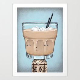 Hey, Careful Man, There's a Beverage Here Art Print