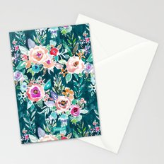EFFUSIVE FLORAL Stationery Cards