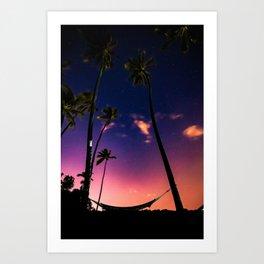 Endless Summer Nights Art Print